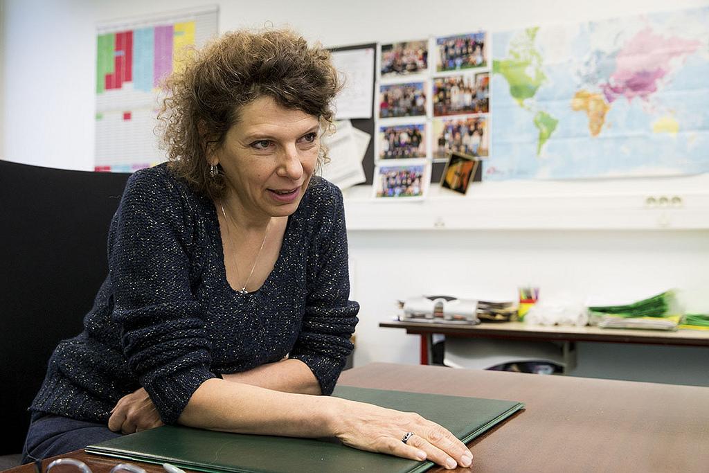 Eléonore Castreau, Directrice Ecole élémentaire Tanger B