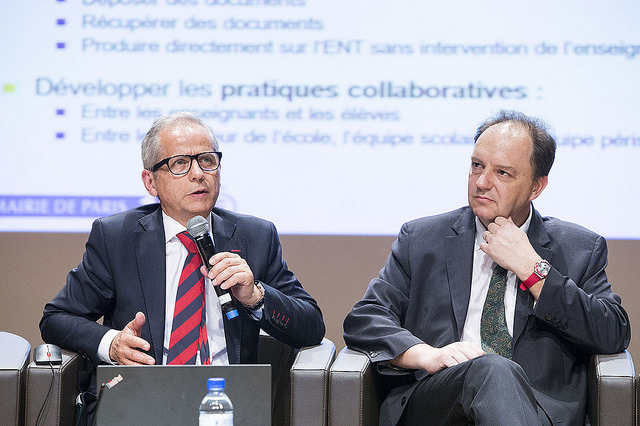 Philippe Taillard et Emmanuel Gojard