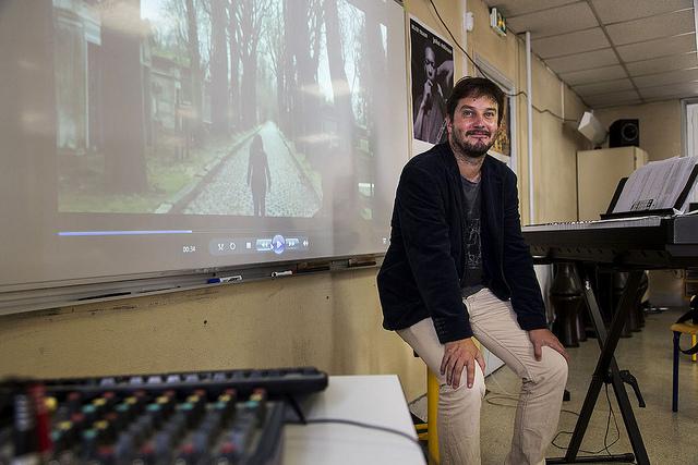 Julien Antona, professeur de musique