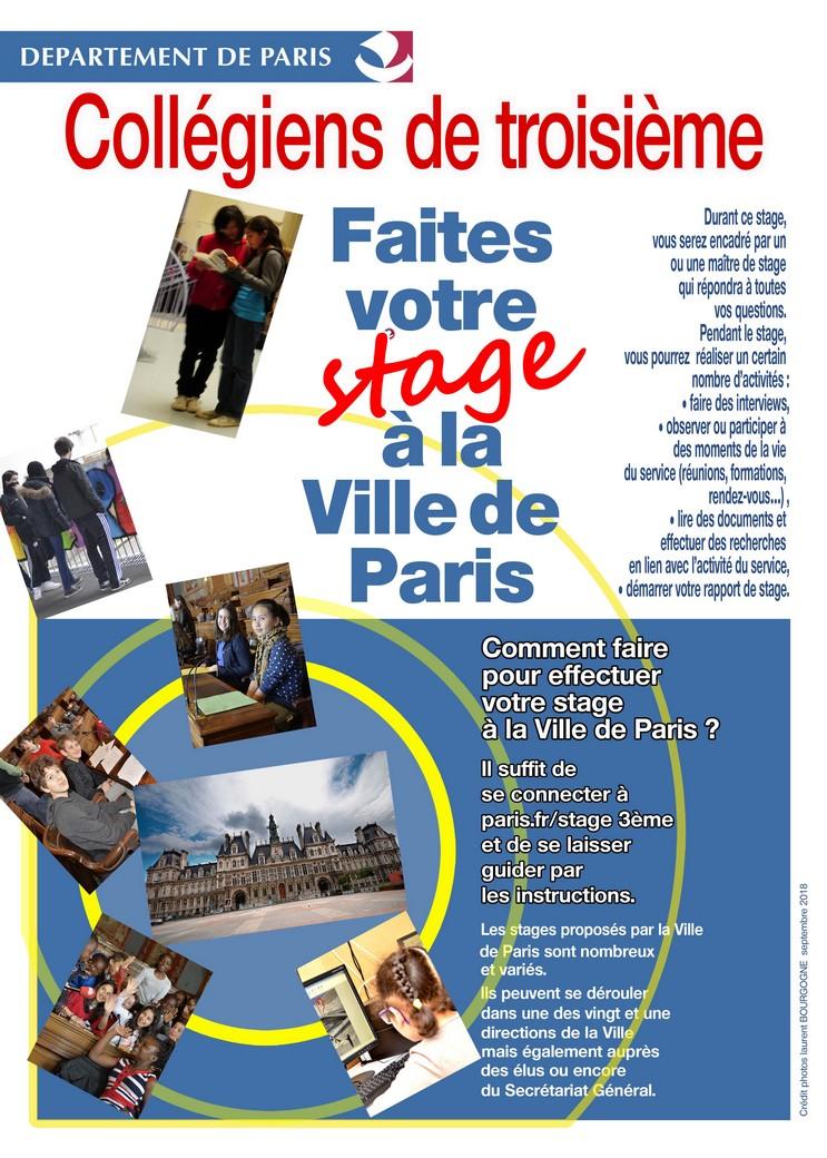 Pcn Collegiens De 3eme Faites Votre Stage A La Ville De
